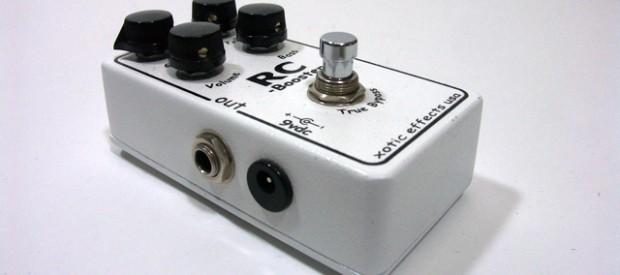 Der Xotic RC Booster ist vom Grunde her ein Booster, welcher das Signal in bester Qualität um bis zu 20 db clean boostet. Dazu hat man noch einen aus Bass […]