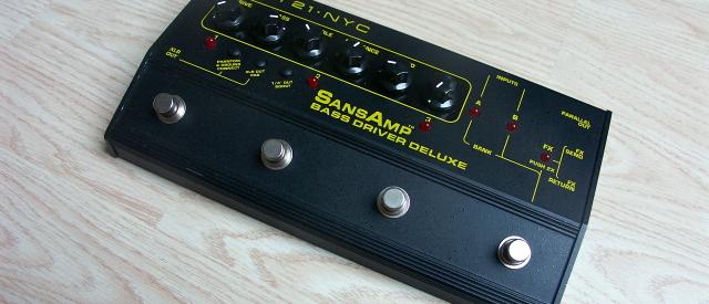 Tech 21 Sans Amp Bass Driver DI in der Deluxe Edition. Es handelt sich hierbei um die größte Variante des kleinen Wunderkistchen für Bassisten. Es ist quasi der gleiche Sound […]