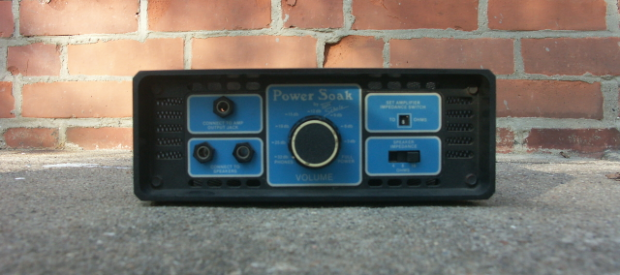 Tom Scholz Power Soak Power Attenuator Power Brake Ampamp De